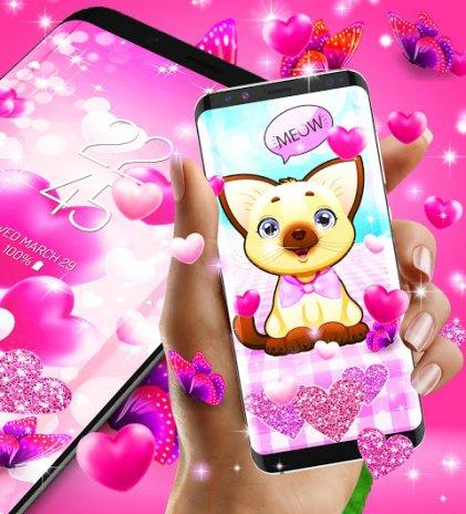 2018 lovely pink live wallpaper 77 download apk for android aptoide 2018 lovely pink live wallpaper screenshot 3 altavistaventures Gallery