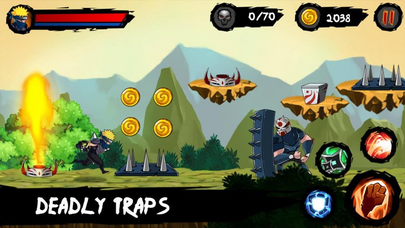 Buy ninja runner unity game with amazing graphics adventure and.