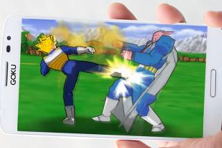 Shin Budokai 2: Goku Saiyan Z Screenshot