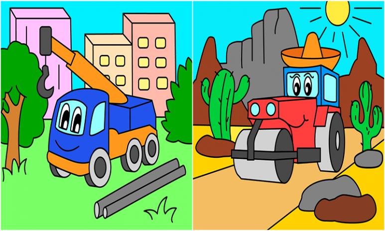 çocuklar Için Araba Boyama 108 Android Aptoide Için Apk Indir
