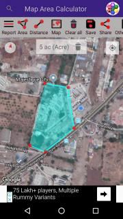 Mobile se jamin napna | Area Calculator on Map 1 3 Download APK for
