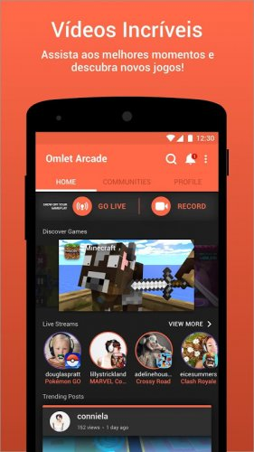 Omlet Arcade - Live do seu celular screenshot 4
