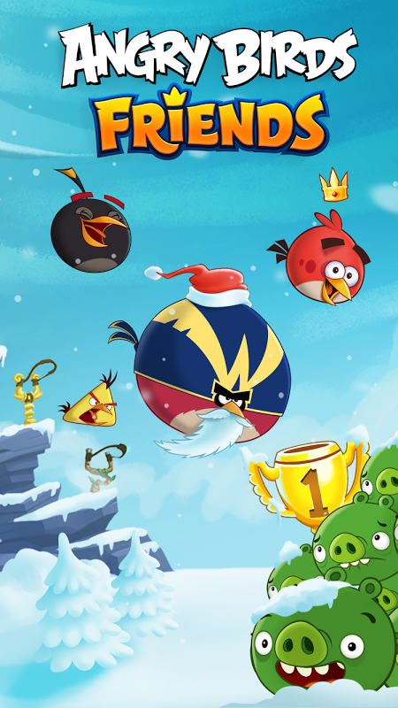 Angry Birds Friends! screenshot 1