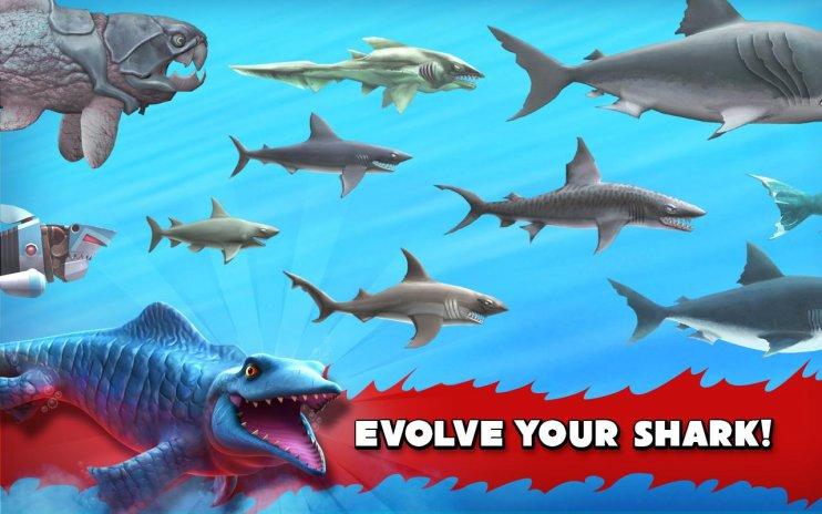 Download Hungry Shark Mod Apk-Get Unlimited[Money+Gems]
