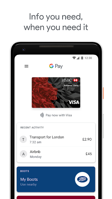 Android Pay screenshot 5