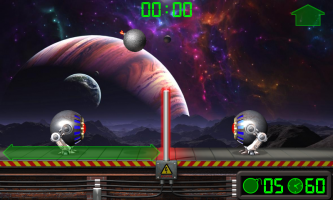 Extreme Volleyball. Battle Robots. Screen
