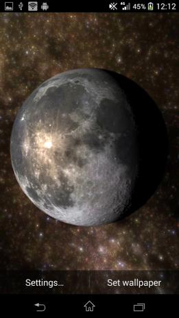 Planets Live Wallpaper Screenshot 4