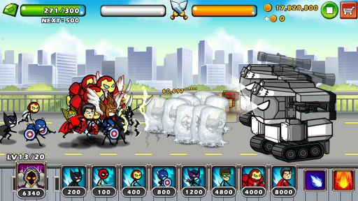 HERO WARS: Super Stickman Defense screenshot 6