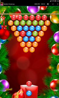 Bubble Christmas screenshot 3