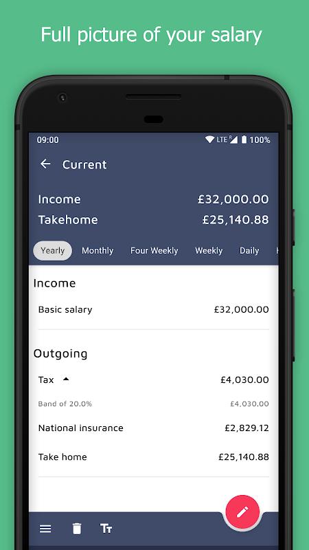 UK Salary Calculator screenshot 1