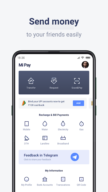 Mi Pay screenshot 1