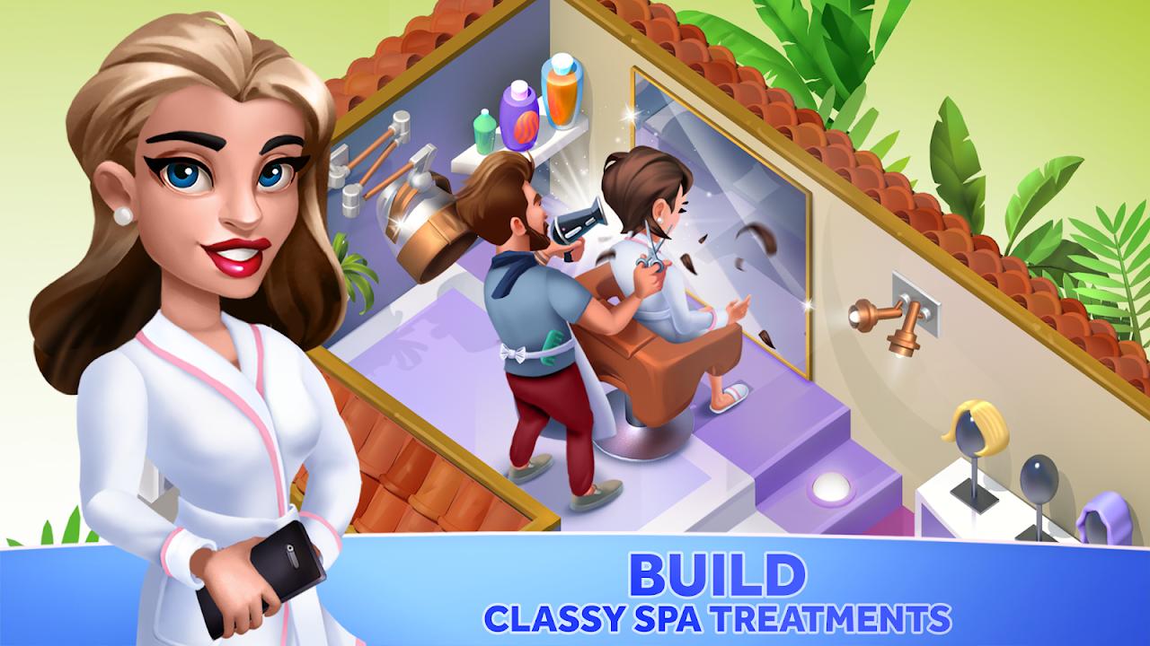 My Spa Resort: Grow, Build & Beautify screenshot 1