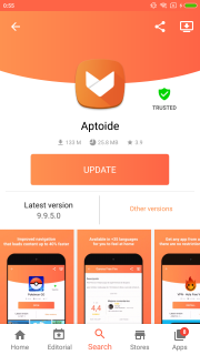 Aptoide Dev screenshot 7