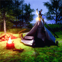 Forest Camping Survival Simulator - Camping Games