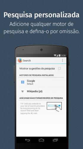 Navegador Firefox screenshot 4