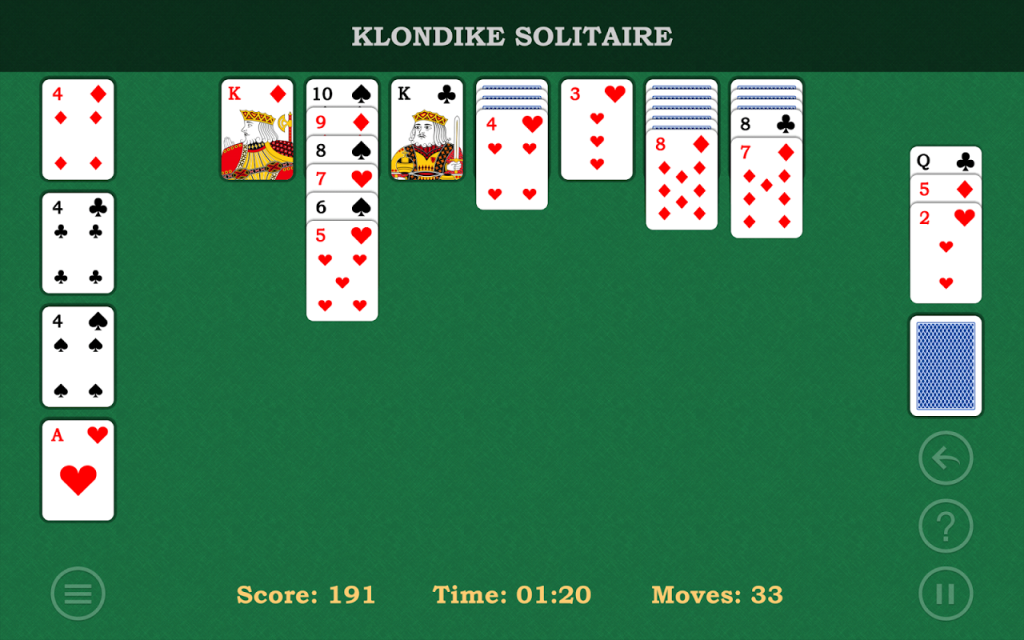Klondike Solitaire Deutsch