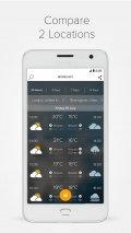 Morecast Weather & Meteo Radar Screenshot
