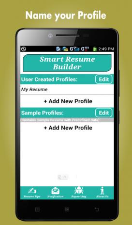 تحميل APK لأندرويد - آبتويد Resume Builder Pro, 5 Minutes CV Maker ...