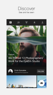 EyeEm - Camera & Photo Filter screenshot 1