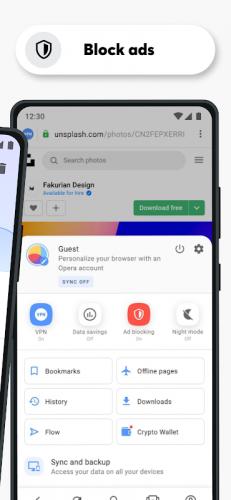 Opera Browser: Fast & Private screenshot 17