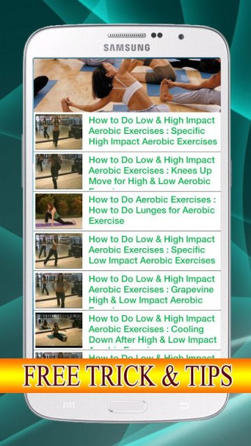 Aerobic Exercises Tips