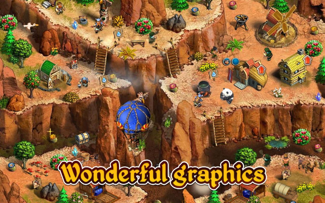 Viking Saga 2: New World screenshot 1