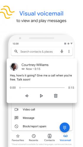 Phone by Google screenshot 2