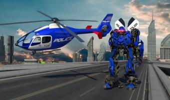 Police War Robot Superhero Screenshot
