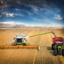 Tractor Forage Farming 17
