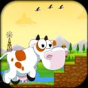 Farm Cow Run