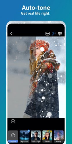 Adobe Photoshop Camera: Photo Editor & Lens Filter screenshot 2