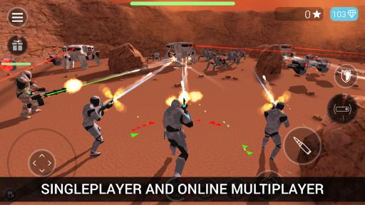 CyberSphere: TPS Online Action-Shooting Game screenshot 1