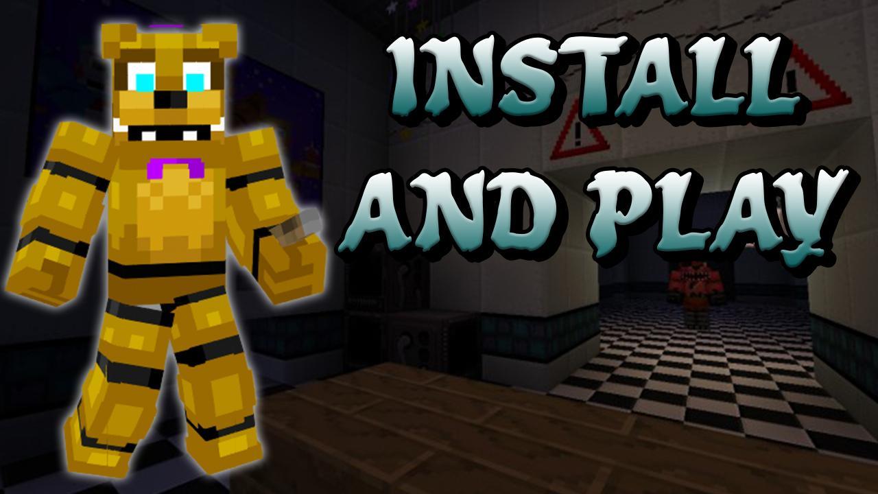 Minecraft Spielen Deutsch Skin Para Minecraft Pe Fnaf Bild - Skins fur minecraft minecraft auf den pc