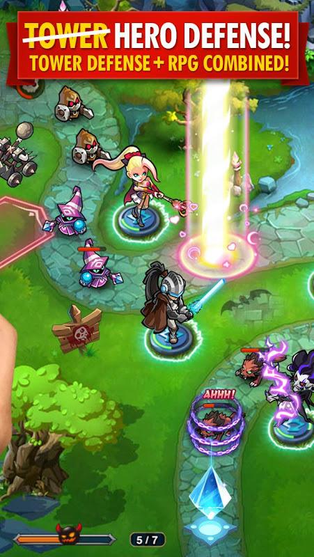 Magic Rush: Heroes screenshot 2