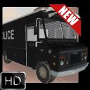 Police Car & Van Busparkplätze