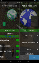 Connection Stabilizer Booster Screenshot