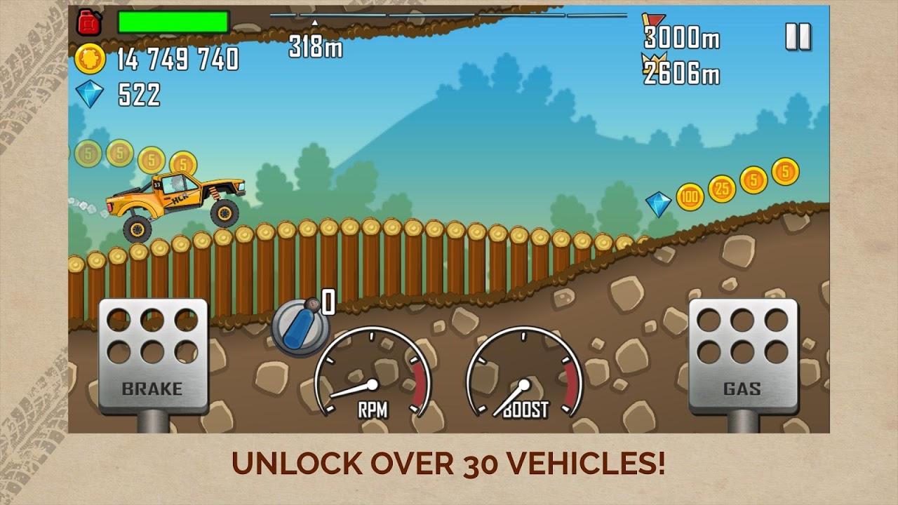 Hill Climb Racing screenshot 1