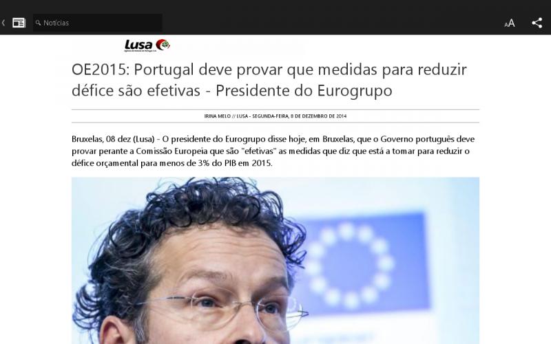 Microsoft Notícias screenshot 4
