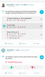 Queskr - Social Q&A. Get Answers! screenshot 2