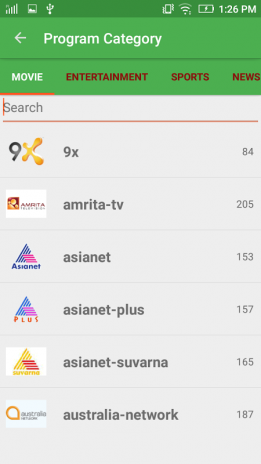 Dth Tv Guide & Programme Guide 1 0 Download APK for Android - Aptoide