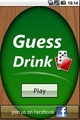 Guess Drink (Drinking game) screenshot 1