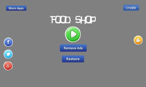 Food Shop - provide the food screenshot 1