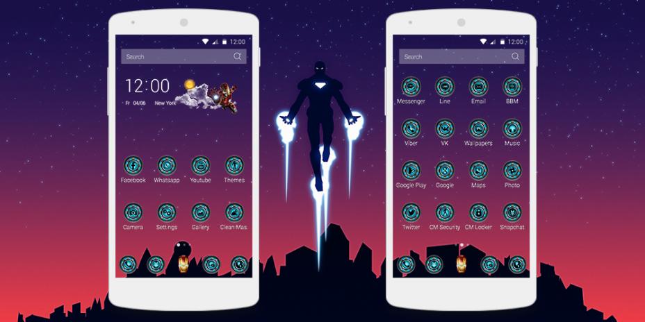 Iron Man - Theme 1 1 8 Download APK for Android - Aptoide