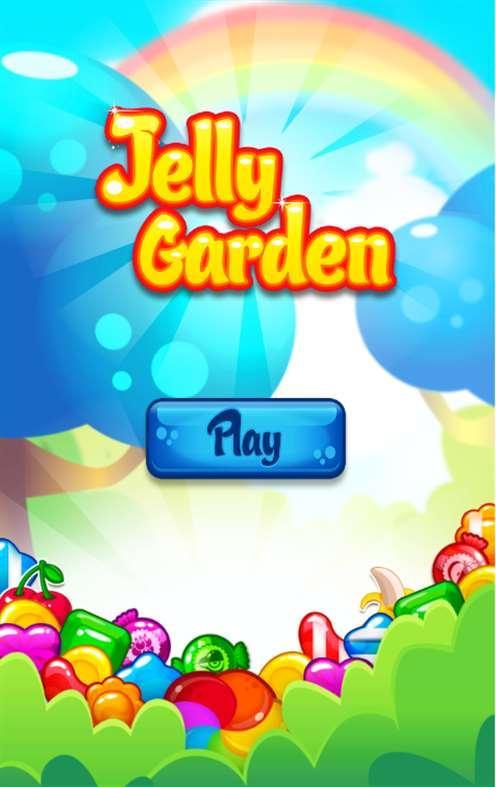 Jelly Garden Crush Saga screenshot 1