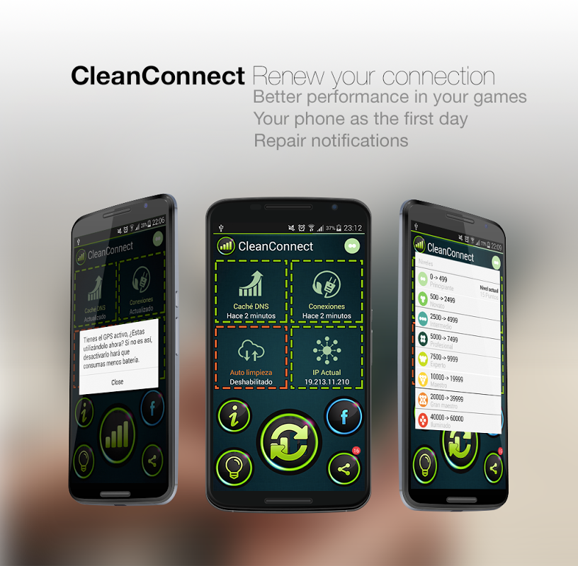 CleanConnect Master Connection screenshot 1
