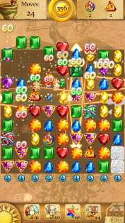 Clash of Diamonds - Match 3 Jewel Games screenshot 4