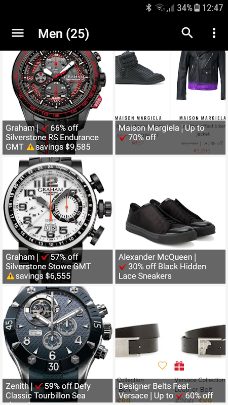 Luxury! - Deluxe deals, Shopping Luxury and style screenshot 3