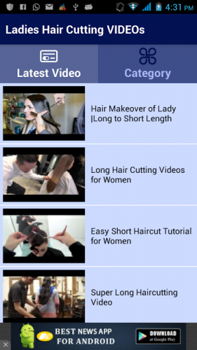 Ladies Hair Cutting Videos 5 0 Download Android Apk Aptoide