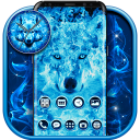 Tema do Lobo de Gelo Azul