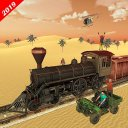 Train Robbery shooting game: Gold Robbery Crime